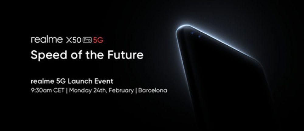 realme debiutuje na Mobile World Congress 2020 ze swoim pierwszym flagowym produktem 5G - realme X50 Pro 5G