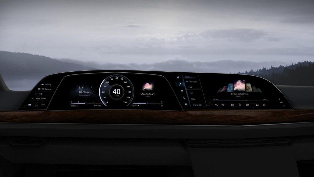 Pierwszy na świecie cyfrowy kokpit do samochodu P-OLED od LG zadebiutował w Cadillacu Escalade 2021