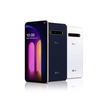 Obsługa sieci 5G, nagrywanie w 8K i dźwięk w jakości studyjnej – LG prezentuje flagowy smartfon LG V60 ThinQ 5G
