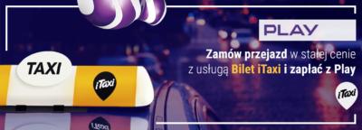 itaxi zaplac z play header Zapłać z Play w iTaxi!