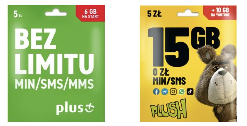 Zmiany w ofertach na kartę w sieci Plus, czyli JESZCZE WIĘCEJ GB