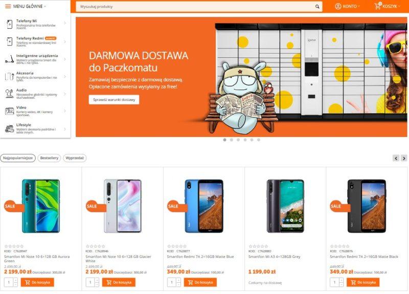 Xiaomi - sklepy stacjonarne i online w Polsce