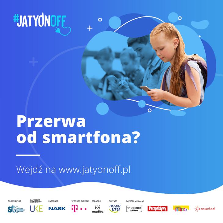 T‑Mobile partnerem ogólnopolskiego programu dla uczniów szkół podstawowych #JaTyOnOff – zróbmy sobie przerwę od smartfona