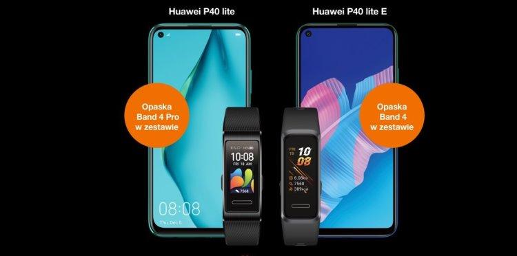 Nowości od Huawei: P40 Lite i P40 Lite E