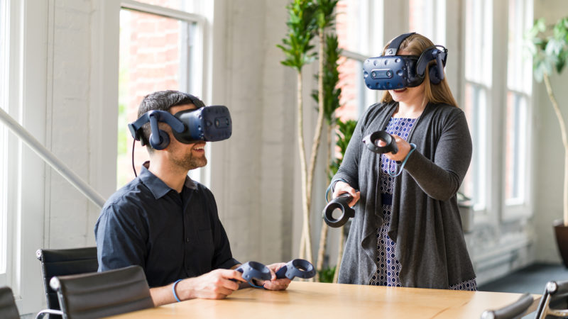 VIVE Pro Eye office multi user