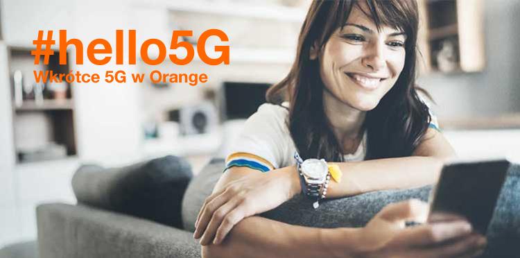 Powiedz #hello5G z Orange Polska - większe paczki GB oraz smartfon Samsung Galaxy S20+ 5G