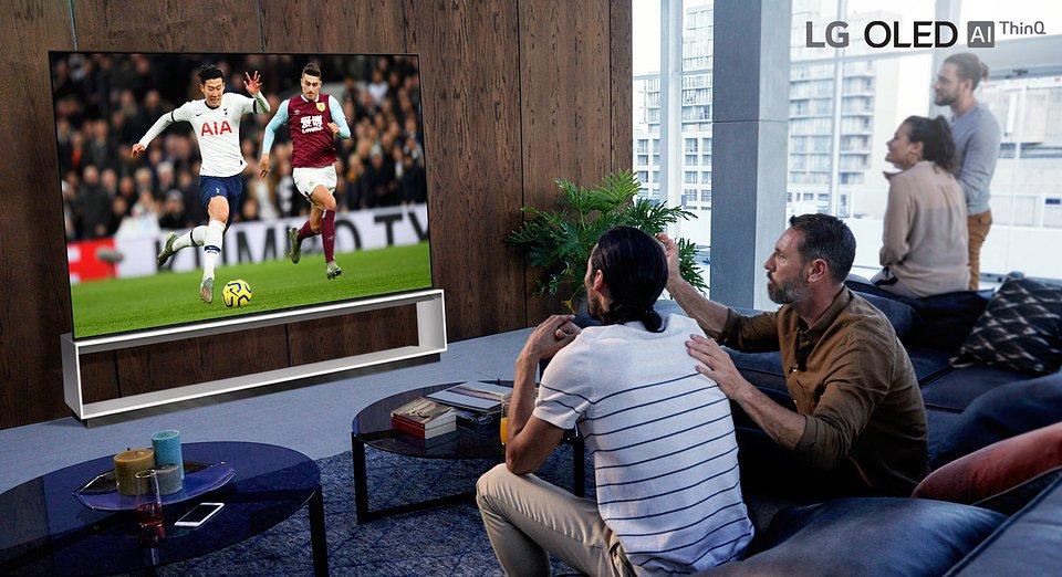 LG filmuje w 8K pierwszy mecz Premier League na najnowsze telewizory 1