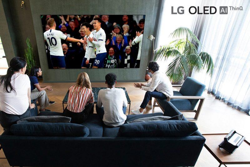 LG filmuje w 8K pierwszy mecz Premier League na najnowsze telewizory