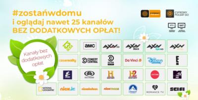 plus Kolejne bonusy od Cyfrowego Polsatu i sieci Plus w ramach akcji #zostańwdomu