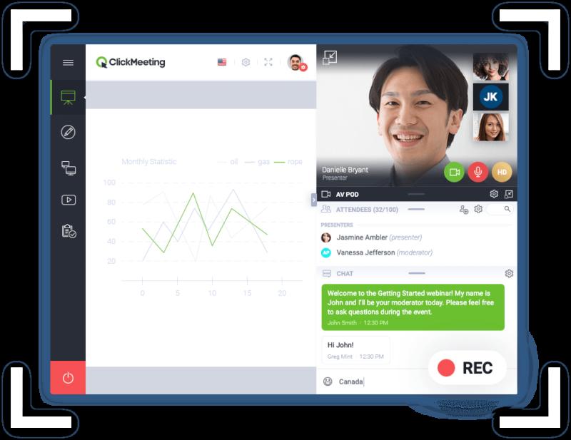 Pięciokrotnie więcej sesji webinarowych, a każdy kolejny dzień to podwojenie liczby nowych kont - ClickMeeting startuje z Akademią