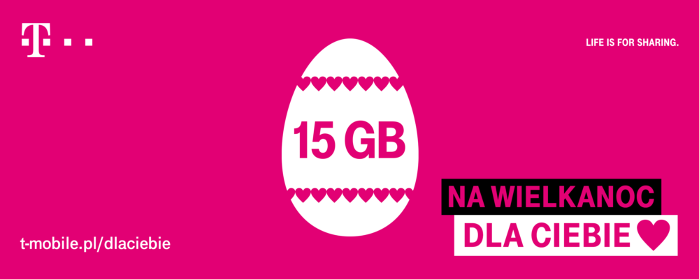 15 GB na Wielkanoc od T Mobile