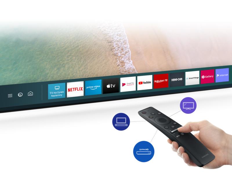Samsung Smart TV: filmy, muzyka i wiadomości na żądanie