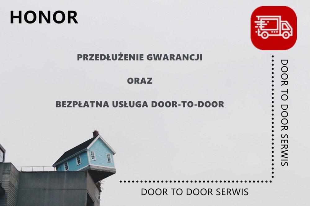 Produkty marki Honor z przedłużoną gwarancją i bezpłatną usługą Door-to-Door