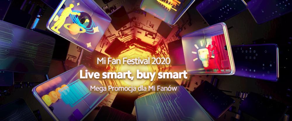 Mi Fan Festiwal Trwa Mi Fan Festiwal 2020, podczas którego Xiaomi świętuje swoje 10 urodziny