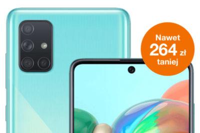 Samsung Galaxy A71 w ofercie tygodnia Orange