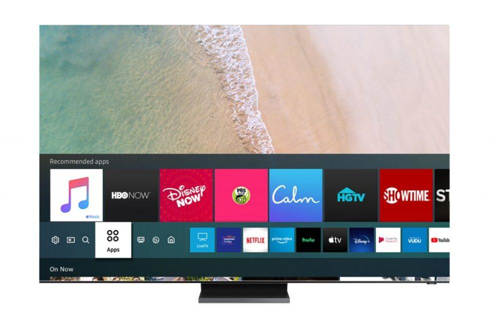 Samsung Smart TV Apple Music 1024x643