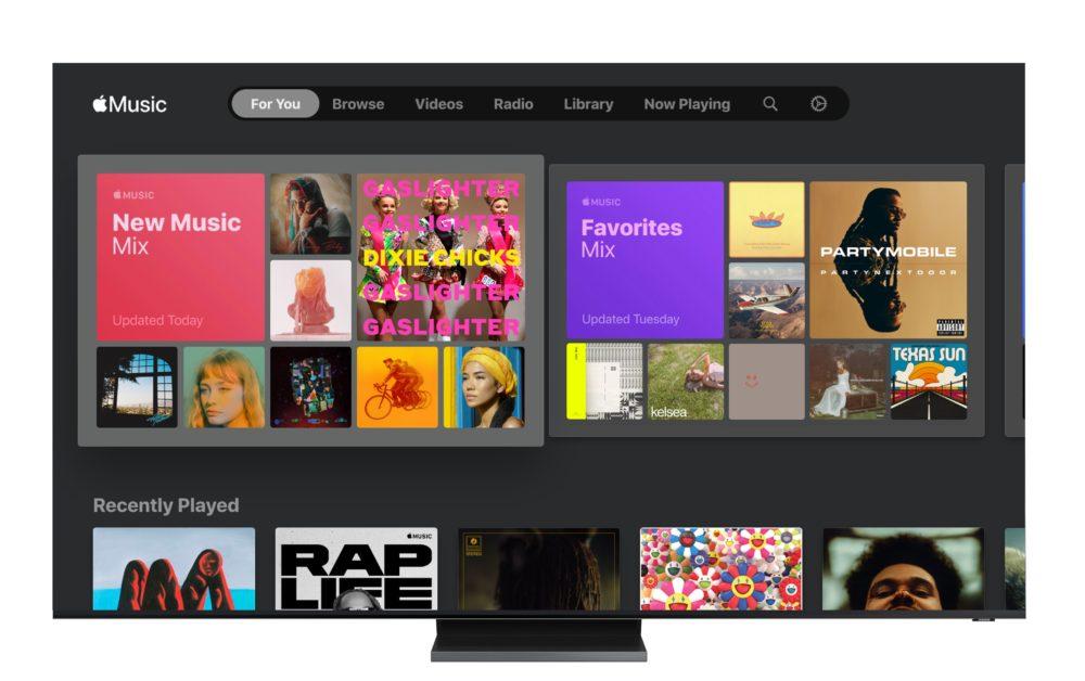 Samsung Smart TV Apple Music rekomendacje