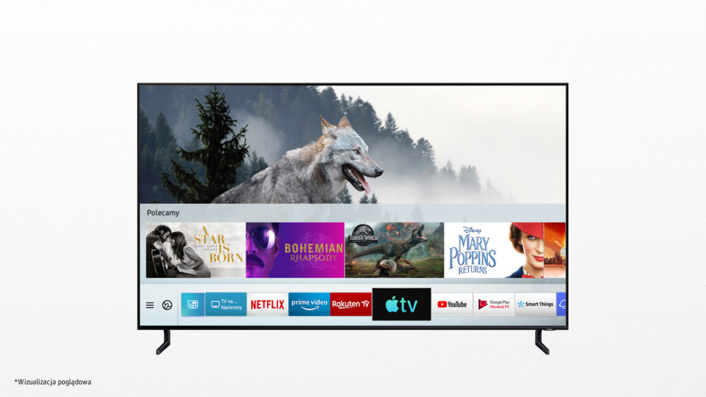 Apple Music od dziś w Samsung Smart TV