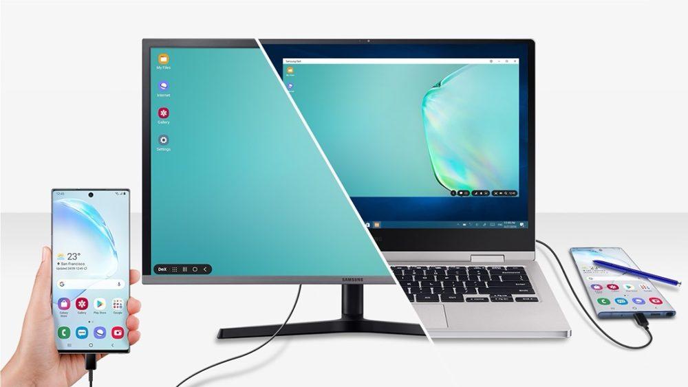 Samsung DeX – pracuj zdalnie na smartfonie lub tablecie