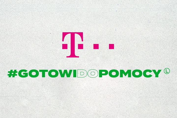 T‑Mobile Polska dołącza do akcji #GOTOWIDOPOMOCY