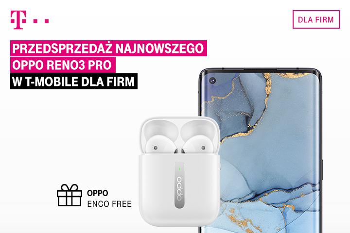 OPPO Reno3 Pro już w ofercie biznesowej T‑Mobile