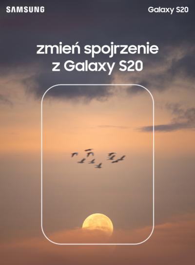 Zmień spojrzenie z Samsung Galaxy S20