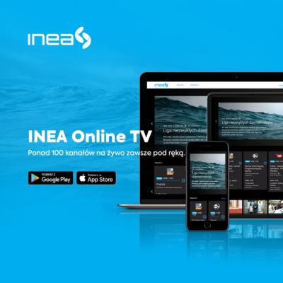 Nowa odsłona aplikacji INEA Online TV