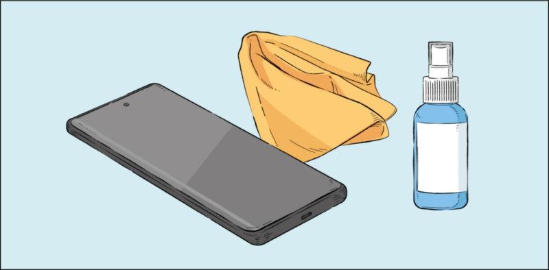 Jak utrzymać smartfon w czystości
