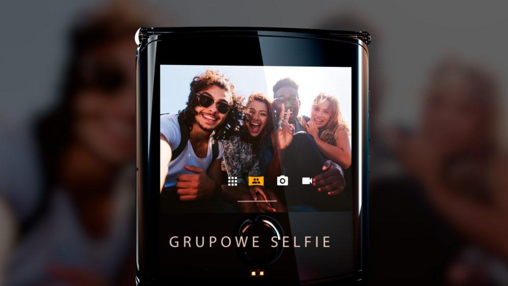 Nowe funkcje wyświetlacza Quick View w Motorola razr z Androidem 10