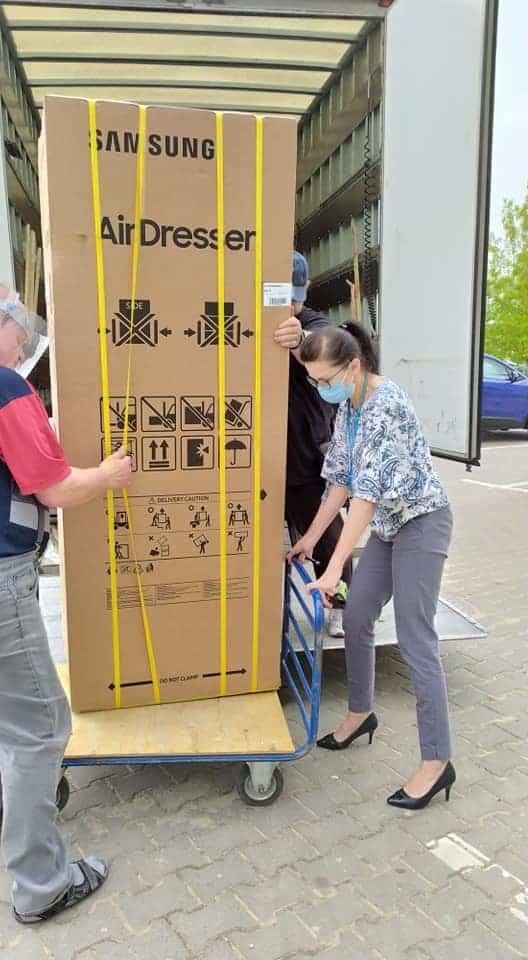 Samsung AirDresser donacja Starachowice 2