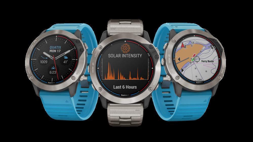 Garmin przedstawia nowy zegarek GPS z technologią ładowania solarnego – quatix 6X Solar