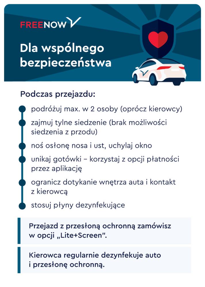 Zasady bezpieczeństwa w taxi