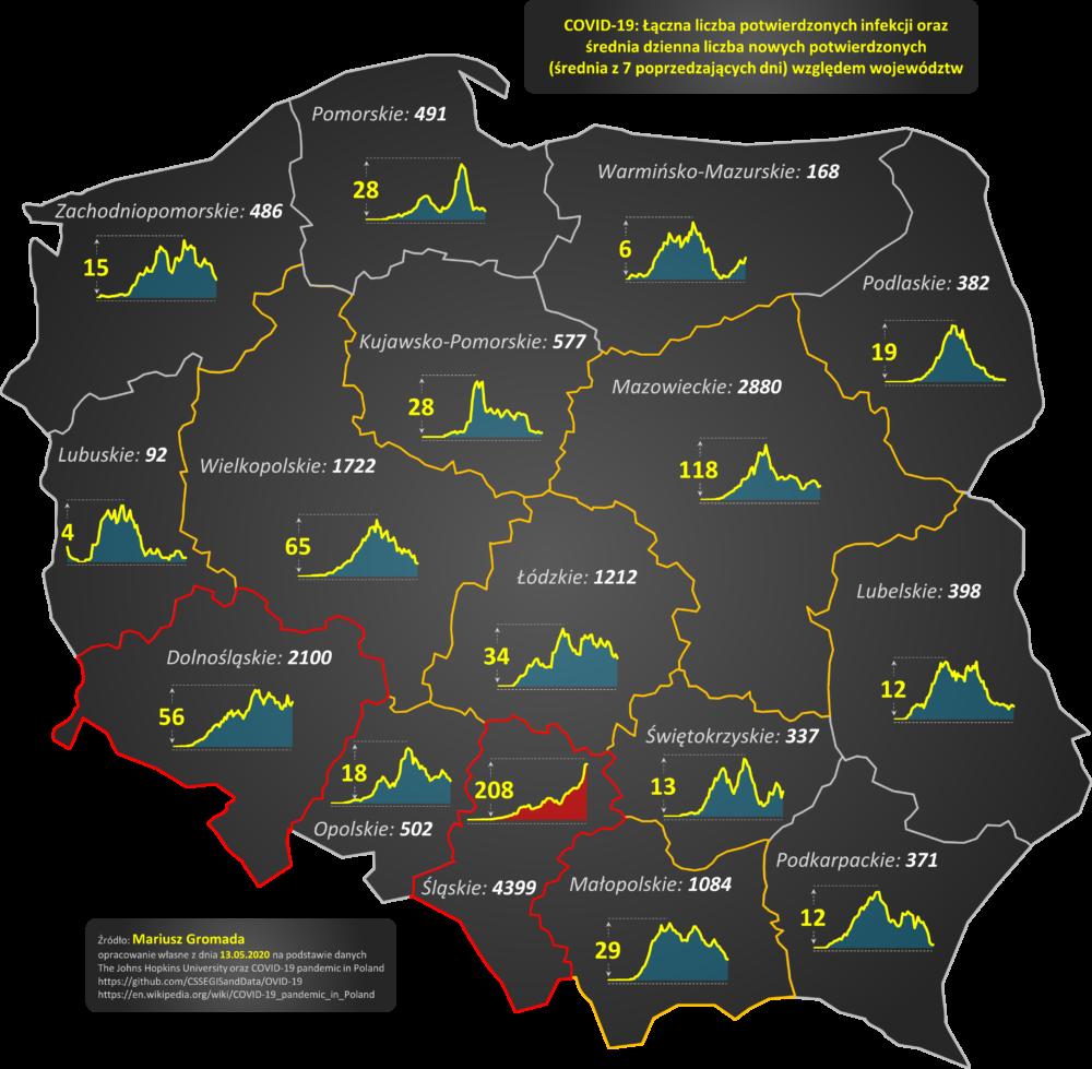covid 19 cykl 11 mapa