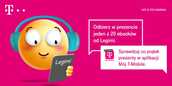 Odbierz darmowy kod na e-booki Legimi od T-Mobile