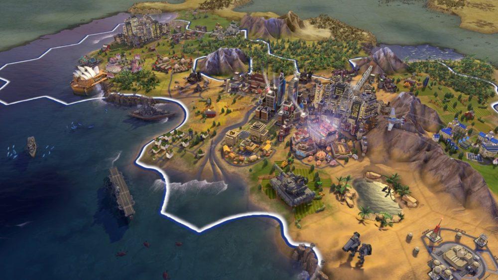 Gra Civilization 6 dostępna za darmo w Epic Games Store