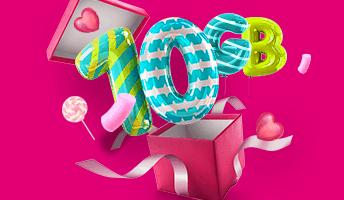 10 darmowych GB od T-Mobile na Dzień Dziecka
