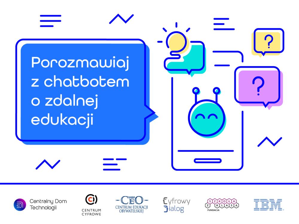 IBM we współpracy z wiodącymi NGO uruchamia EduBota, aby pomóc nauczycielom odpowiadać na pytania o zdalnej edukacji