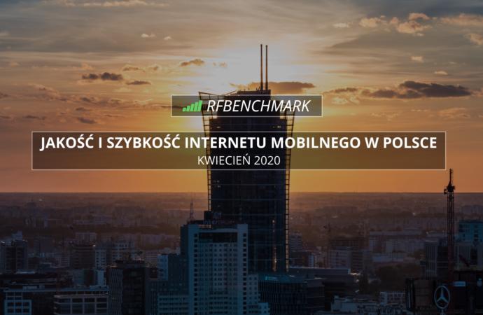 Orange z najszybszym Internetem mobilnym w kwietniu - ranking RFBENCHMARK (kwiecień 2020)