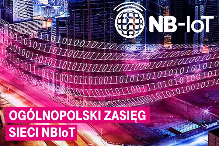 Technologia NB-IoT od T-Mobile z zasięgiem ogólnopolskim