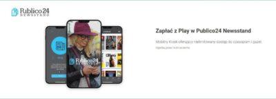 Zapłać z Play w Publico24 Newsstand