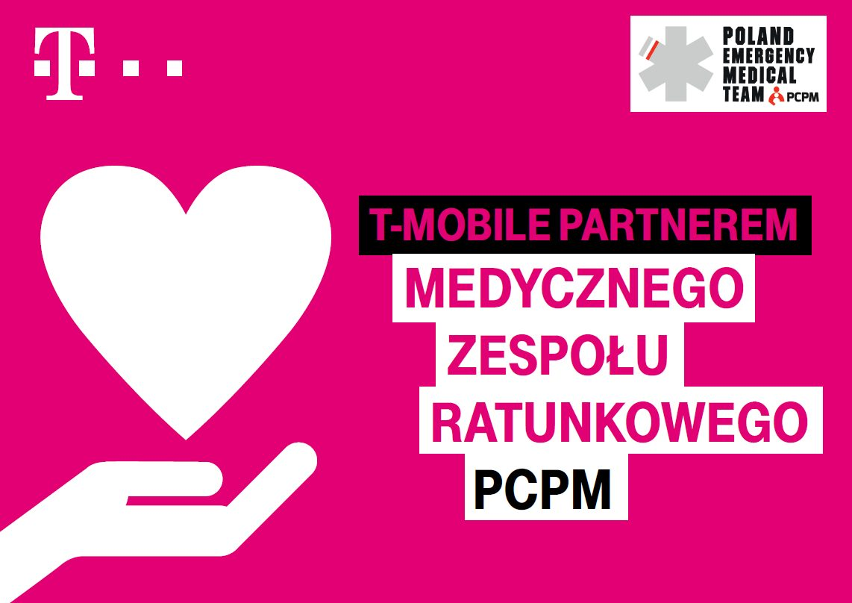 T-Mobile partnerem Medycznego Zespołu Ratunkowego PCPM walczącego z COVID-19