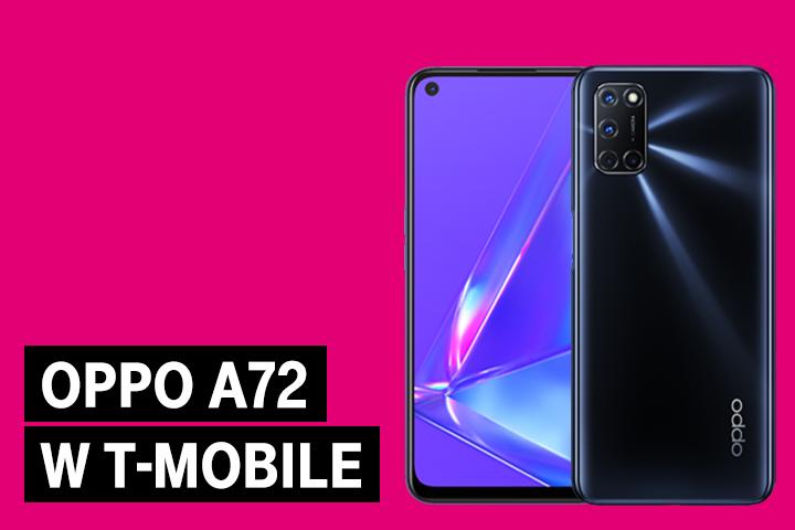 Smartfon OPPO A72 w ofercie T-Mobile