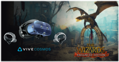 HTC Vive Cosmos z grą THE WIZARDS - ENHANCED EDITION w prezencie