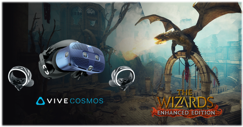 HTC Vive Cosmos z grą THE WIZARDS - ENHANCED EDITION w prezencie