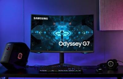 Samsung wprowadza zaawansowany monitor gamingowy – Odyssey G7