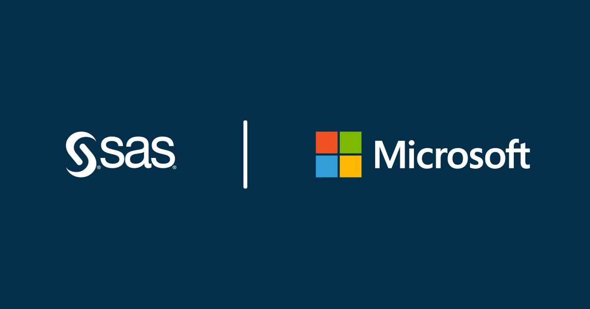 SAS i Microsoft łączą siły, aby dalej kształtować przyszłość analityki i sztucznej inteligencji