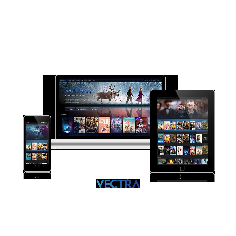 TV Online VOD mobilnie