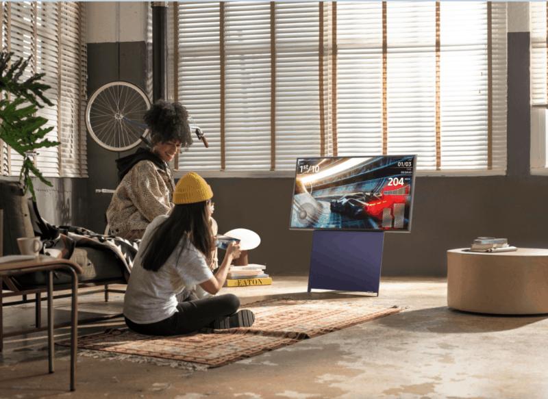 The Sero, The Frame i The Serif – telewizory, które pasują do każdego stylu życia