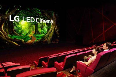 Pierwsze kino z ekranem LG Cinema Display i systemem Dolby Atmos zachwyca kinomanów