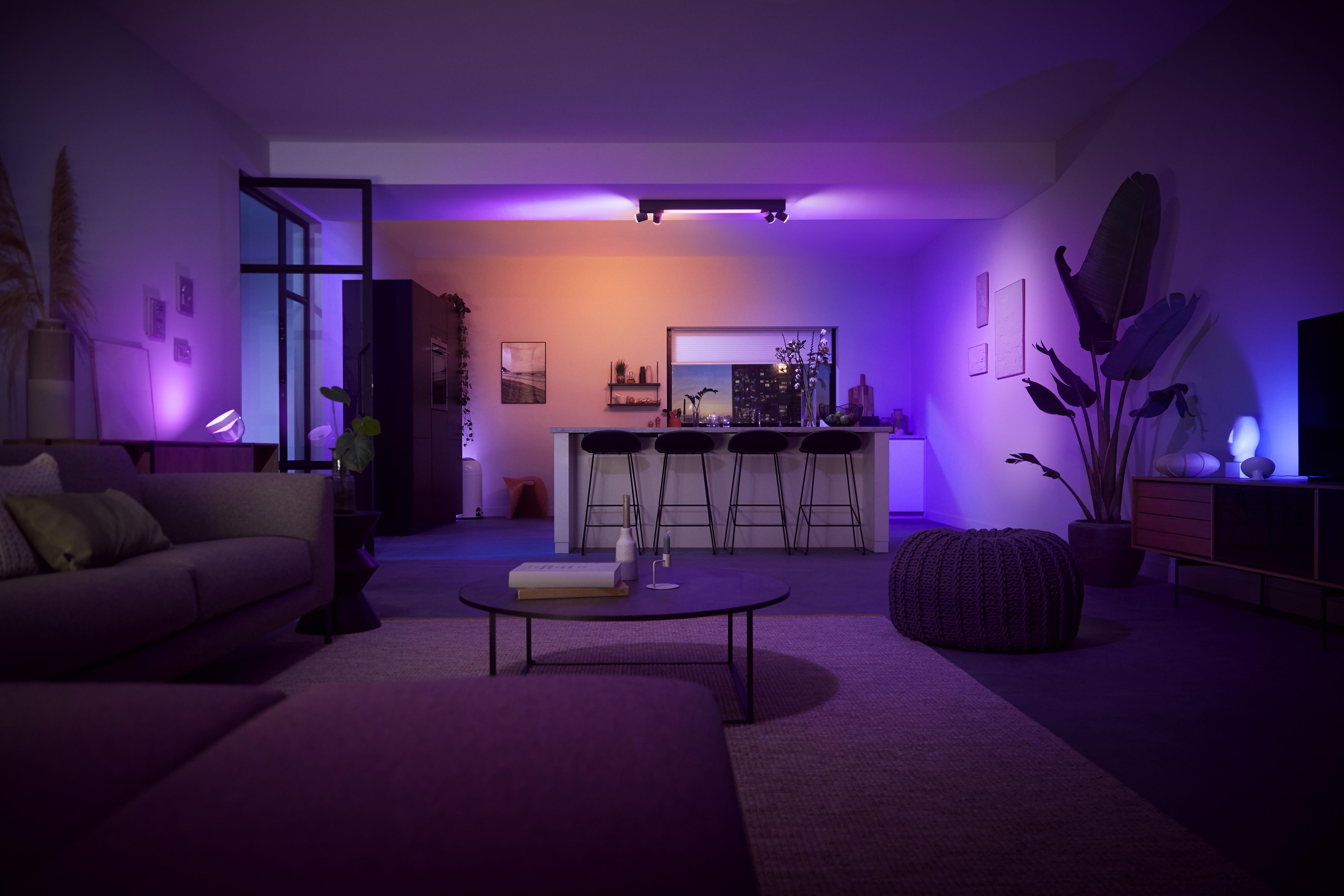 Philips Hue wprowadza nowe źródła światła, oprawy oświetleniowe i zmodernizowane lampy